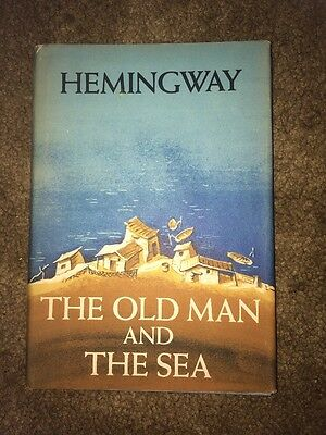 The Old Man and The Sea by Hemingway 1952 w, Book of the Month Club