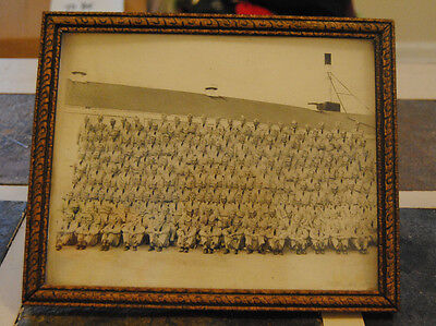 WWII Era Camp Atterbury Photograph Framed Group