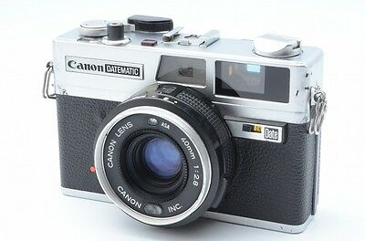 Canon DATEMATIC 35mm Rangefinder Film Camera w/t lens 40mm f2.9 #87297