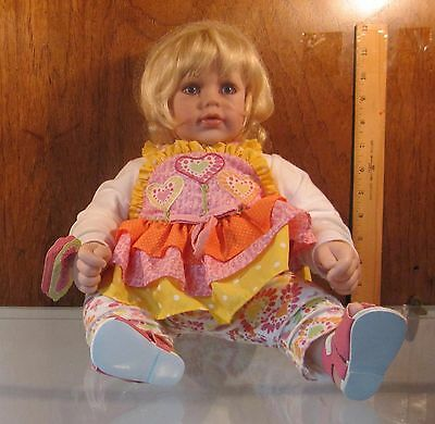 "Adora Doll ☆ Jelly Beanz Adorable 20"" Baby Toddler Doll ☆ Original Box"