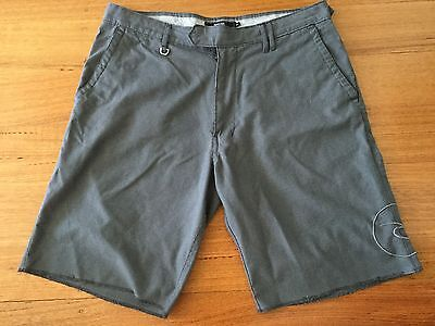 Rip Curl Mens Grey Walk Shorts Size 34