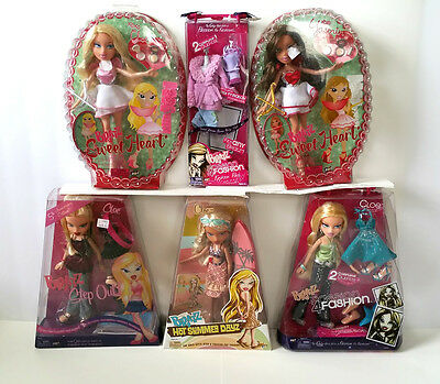 NEW Bratz Lot of 6: Hot Summer Dayz, Step Out, Sleepover, Etc. - Free Shipping!