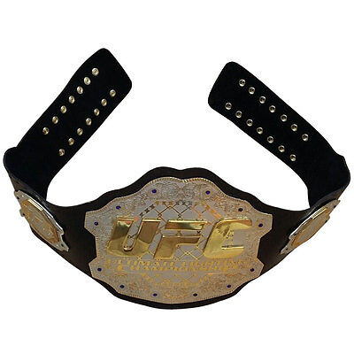 UFC Championship Belt Ultimate Fighting Replica Belts Adult Size Real Leather