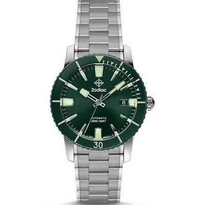 Zodiac ZO9257 SUPER SEA WOLF 53 Automatic Sapphire Crystal Watch