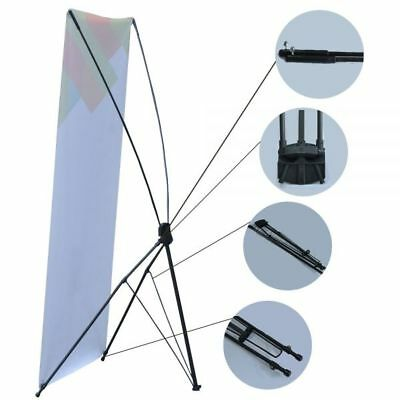 US Stock- Economy Aluminum Foot Tripod X Banner Stand (Stand Only) (10 pcs/pack)