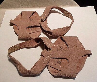 Dance Distributors Brand Leather Soles And Uppers Ballet Sz. 5M Made In Brazil