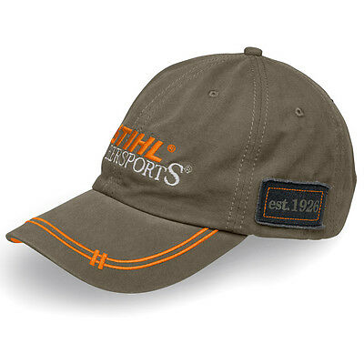 Stihl Timbersports Genuine Clothing Olive Green Cap unisex hat