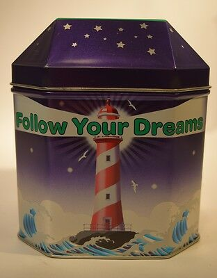 Girl Scout Cookies Tin Commemorative 2013-14 Follow Your Dreams Light House Sea