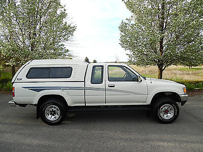 1990 Toyota Tacoma EXTENED CAB 4X4 PICKUP ELLING AT NO RESERVE 2-OWNER LOW MILE 1990 TOYOTA X-CAB PICKUP 4X4 V-6 SURVIVOR