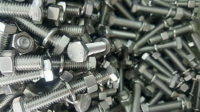100 x 316 Marine Grade Stainless Steel Bolts  Washers Nuts Included