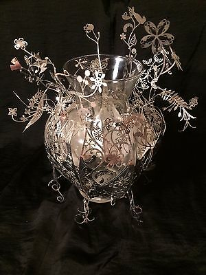"""TORD BOONTJE for Artecnica etched metal """"Thinking of You"""" vase"""