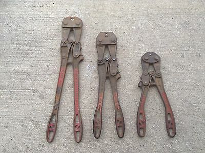 VINTAGE NATIONAL TELEPHONE SUPPLY CO. NICOPRESS CRIMPING TOOLS -Lot of 3