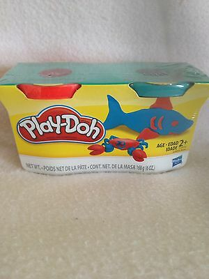 Brand new Play Doh 1 pack 2 different colours