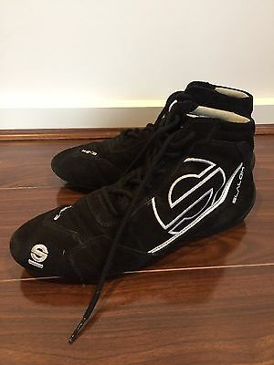 Sparco Race Boots Size 8.5/9 FIA RACING SPEEDWAY