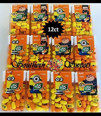 Tic Tac Despicable Me Minions 12Ct Despicable Me3 Limited Edition Free Postage