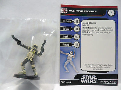 Kashyyyk Trooper,Champions Of The Force 29/60 Star Wars Miniatures C.O.T.F.