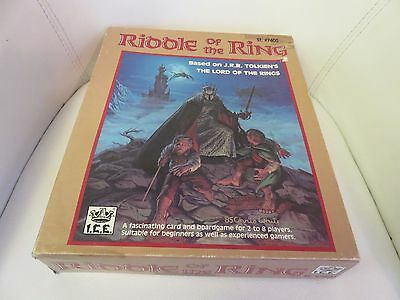 Riddle of the Ring Board Game ICE Lord of the Rings Vintage RARE