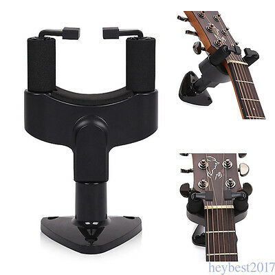 Guitar Wall Mount Hanger Holder Bracket Exquisite Resin Plastic Stand Hook CF12