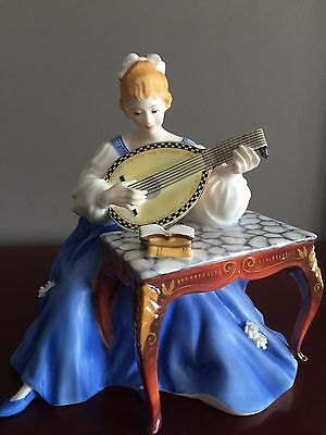 Royal DOULTON Lady Musicians Limited Edition LUTE HN2431