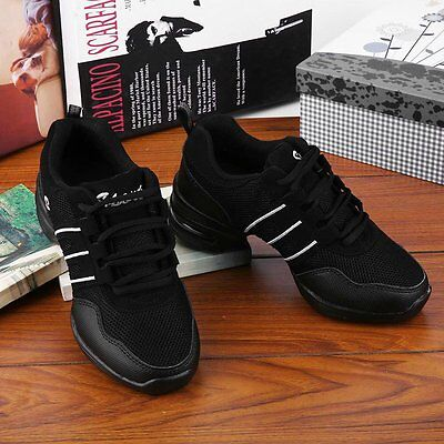 Comfortable Women Lady Teachers Latin Salsa Jazz Modern Dance Shoes Sneakers AU