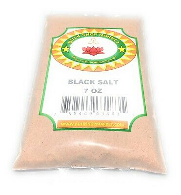 BulkShopMarket Black Salt  7oz (200 GM)