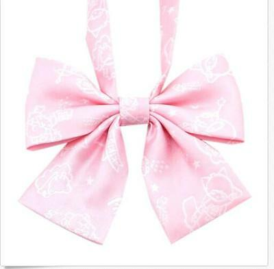 Student JK School Unifrom Jacquard Embroidery Bow Tie Japanese Cosplay Bowknot