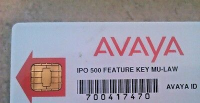 Avaya IP Office - IP 500 v1 LICENSE CARD - Voicemail Pro (6) + Many More!!