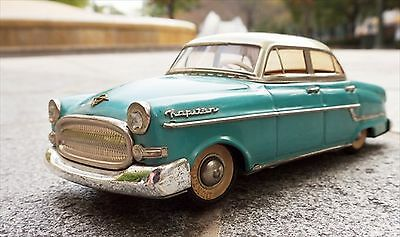 Vintage! 1960s GAMA OPEL Kapitan Tin Toy  MADE IN WESTERN GERMANY F/S from Japan