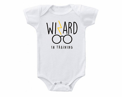 Harry Potter Wizard In Training Baby Onesie Or Tee Shirt Shower Gift