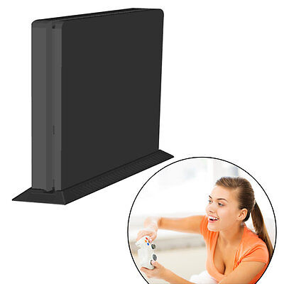 Anti-Slip Vertical Stand Mount Dock Holder Base for PS4 Console Protector Y#