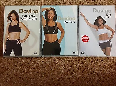 Bundle of 3 Davina Workout DVD's. All in Excellent Condition