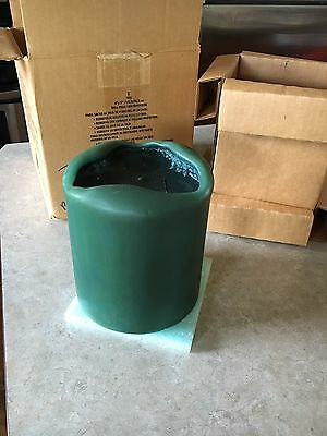 """Partylite Balsam Pine 3 Wick Pillar Candle 6""""x8"""" EUCIB! Burned a couple of times"""