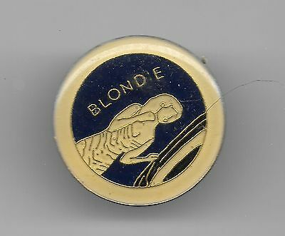 Vintage Blondie Music Artist old enamel pin