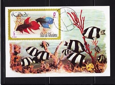Damselfish black-white Fish - Deb Flo Finding Nemo - Imperf. Souvenir Sheet