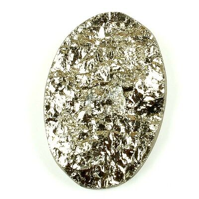 32.50 Carats Lovely NATURAL PYRITE DRUZY OVAL Gemstone 24x16 mm Top Supplier