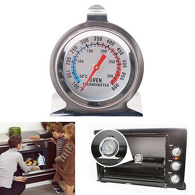 Stainless Steel Temperature Oven Thermometer Gauge For Kitchen Food Cooking