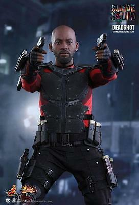 "Suicide Squad Deadshot 1/6 Scale Hot Toys 12"" Figure Will Smith"