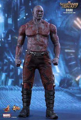 "Guardians of the Galaxy Drax 1/6 Scale Hot Toys 12"" Figure Marvel Dave Bautista"