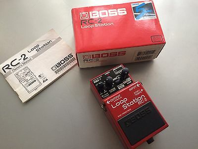 Boss RC-2  Effect Pedal Looper, 3 Cool Settings