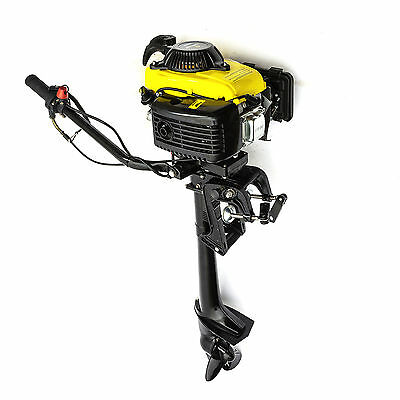 Outboard Engine Motor 2HP 53cc 4 Stroke Engine Fishing Small Boat Dinghy kayak