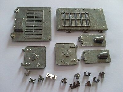 Taigen Panzer IV Metal Engine and Front Hatches for Heng Long 1:16 RC Tank