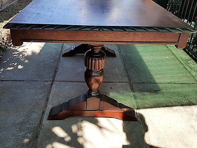 Antique dining table Hardwood Jacobean style table
