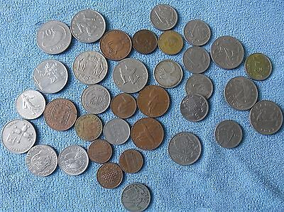 Joblot Of Various Coins From Around The World