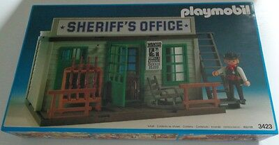 "Vintage Playmobil 3423 ""Sheriff's Office"" NEU NEW MIB NEUF NUEVO"