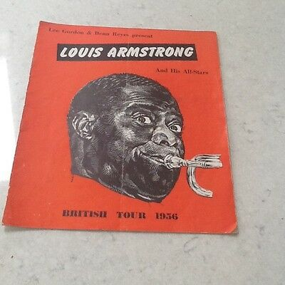 Louis Armstrong And His All Stars Program All Stars Tour 1956