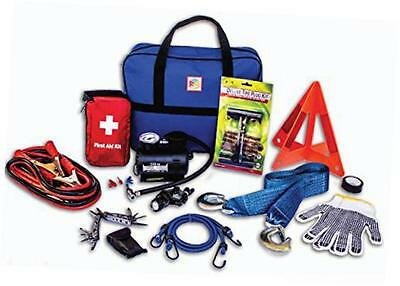 90-Piece Roadside Assistance Emergency Car Truck and RV Kit with...