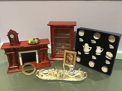 Vintage Doll House Furniture And Accessories