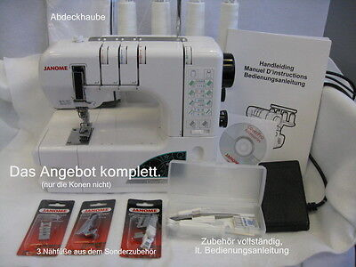 Janome Cover Pro 1000 CPX Limited Edition Nähmaschine, gebraucht