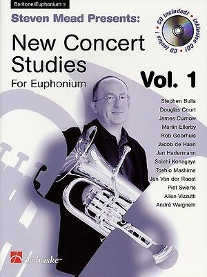 Steven Mead Presents: New Concert Studies for Euphonium - Music Book with CD