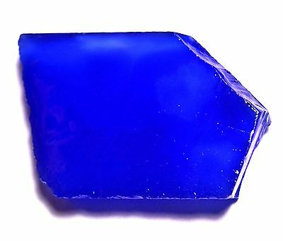 245.0 Ct Natural Blue Shiny Chalcedony Beautiful Slab Top Quality Best Offer